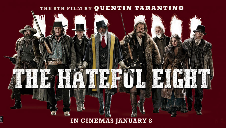 The Hateful Eight. Gloante si organe proaspete
