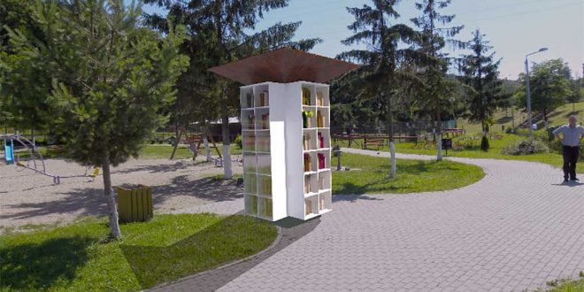Biblioteca de pe strada