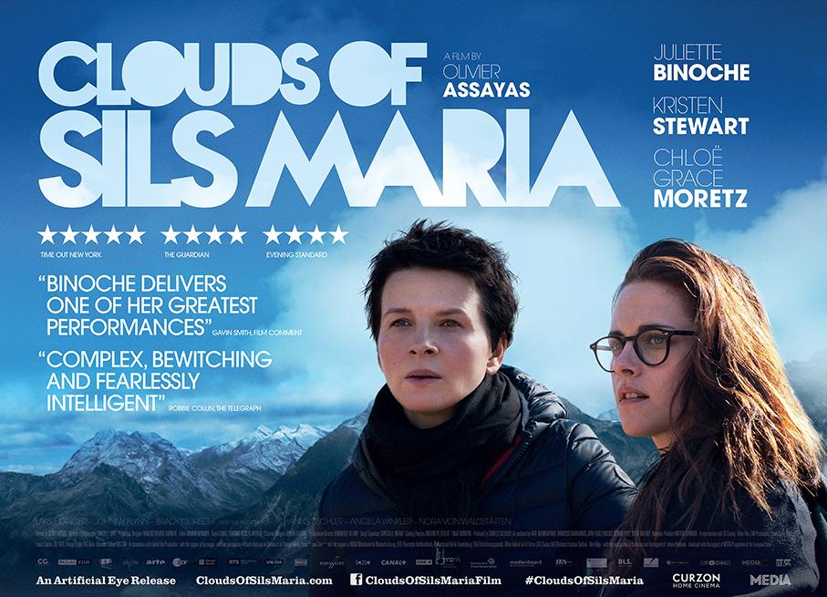 Clouds of Sils Maria. Sarpele din viata unui om
