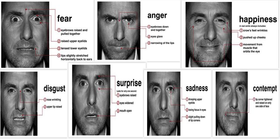 Emotii si Microexpresii faciale