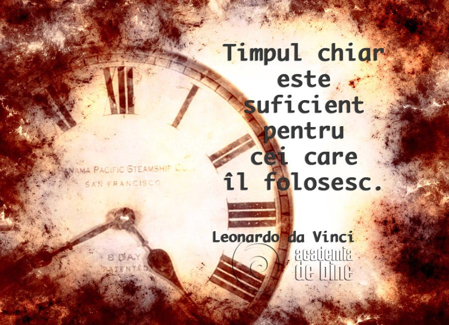 Tu ai timp?