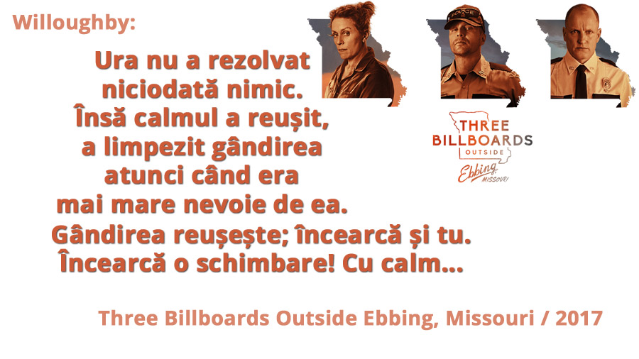Three Billboards... Cat de mult poti ura pe cineva?